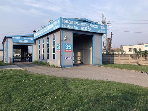 Okręgowa Stacja Kontroli Pojazdów ul. Łodygowa 35