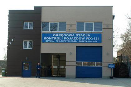 Okręgowa Stacja Kontroli Pojazdów ul. Marywilska 59