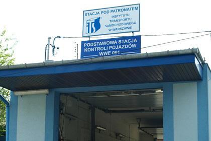 Podstawowa Stacja Kontroli Pojazdów ul. Przemysłowa 9d